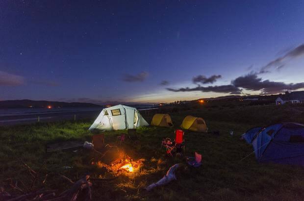 初心者の快適キャンプ