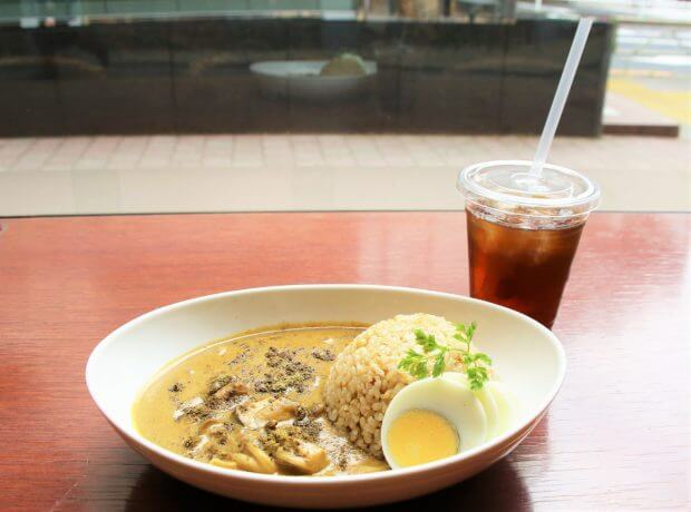 ぼっち飯 タヒチアンノニ カフェ