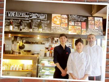 Mother Moon Cafe (1)神戸国際会館店 (2)三宮本店 (3)六甲店のアルバイト情報