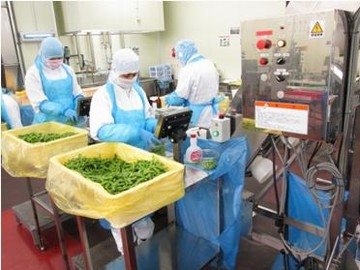 24時間稼働の食品製造工場です!