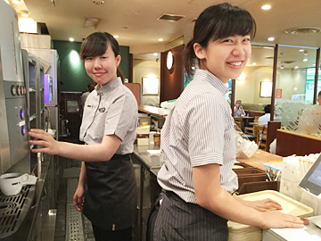 ドトールコーヒーショップ 北青山店のアルバイト情報