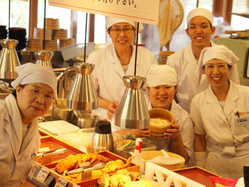 丸亀製麺エアポートウォーク名古屋店(2092980)のアルバイト情報