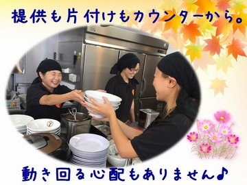 麺屋しずる 5店舗合同募集のアルバイト情報