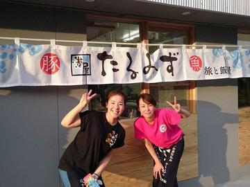 (1)ドラム缶焼肉×Yoshi(2)旅と飯屋 港屋たるみず(3)下記のアルバイト情報