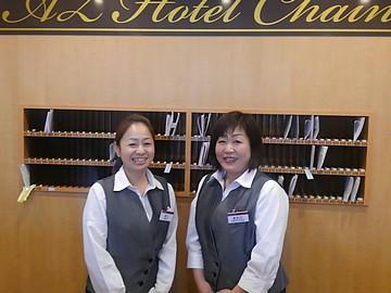 HOTEL AZ(エーゼット)   4店舗同時募集のアルバイト情報