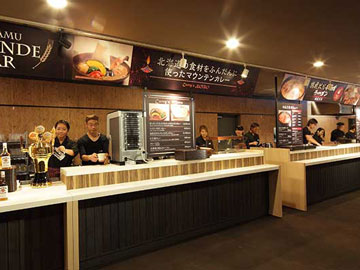 リゾートセンター トマム食堂のアルバイト情報