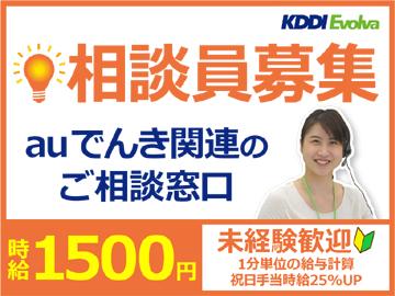 株式会社KDDIエボルバ/DA025632のアルバイト情報