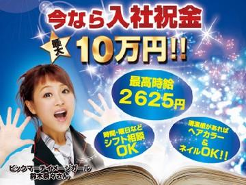 ビックマーチ 北関東22店舗同時募集のアルバイト情報