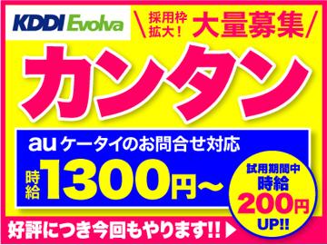 株式会社KDDIエボルバ 九州・四国支社/IA018362のアルバイト情報