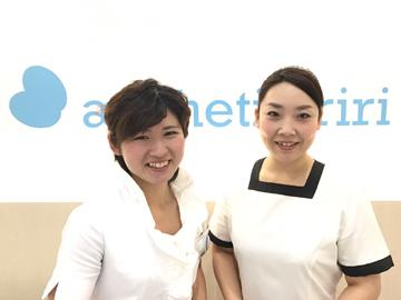 エステティックriri 6店舗同時募集 <株式会社バース>のアルバイト情報