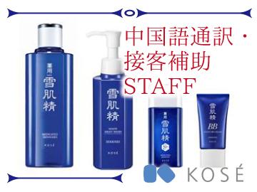 コーセー化粧品販売株式会社 首都圏第二支店のアルバイト情報