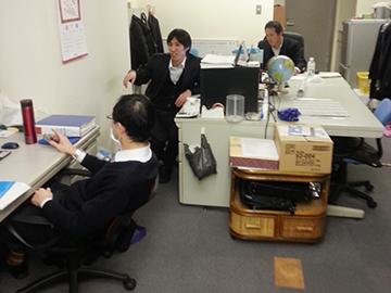 若手スタッフがのびのびと働くアットホームな職場です。
