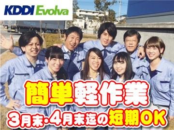 株式会社KDDIエボルバ/DA026485のアルバイト情報