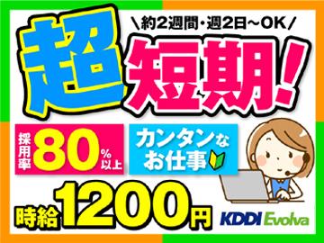 株式会社KDDIエボルバ 九州・四国支社/IA018467のアルバイト情報