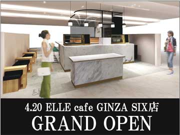 ELLEcafe(エルカフェ) GINZA SIX店/andeat株式会社のアルバイト情報