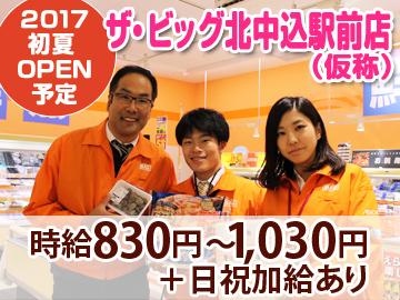 ザ・ビッグ北中込駅前店(仮称) マックスバリュ長野株式会社のアルバイト情報