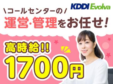 株式会社KDDIエボルバ/DA027005のアルバイト情報