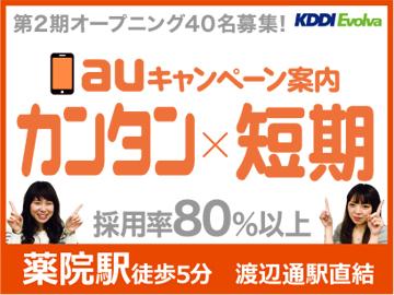 株式会社KDDIエボルバ 九州・四国支社/IA018611のアルバイト情報