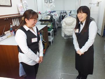 ファッションクリーニング ポプリンのアルバイト情報