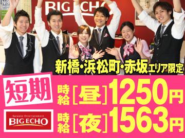 BIG ECHO(ビッグエコー) 新橋烏森口店のアルバイト情報
