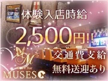 Girlsbar  MUSES 【ミューゼス】のアルバイト情報