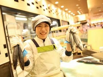 「包丁を使うのは苦手」「魚をさばいたことがない」そんな方でも大丈夫!長く働ける環境です。