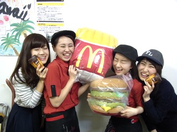 マクドナルド 1号線川越町店(2915775)のアルバイト情報