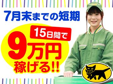 ヤマト運輸(株) 右京ブロック [062003]のアルバイト情報