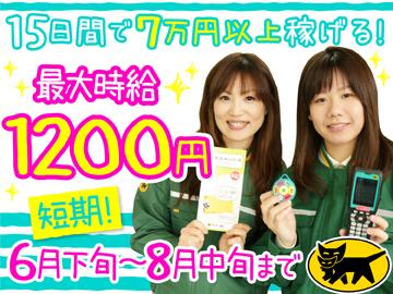 ヤマト運輸(株) 住之江ブロック [060429]のアルバイト情報