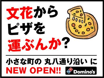 ドミノ・ピザ 文花店 / A1003817335のアルバイト情報