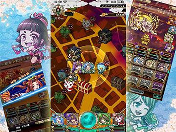 地図で遊ぶRPG!和をテーマにした世界観!