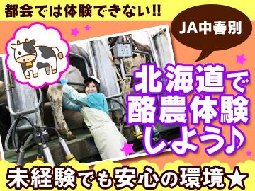 中春別(なかしゅんべつ)営農サポート協議会・JA中春別のアルバイト情報
