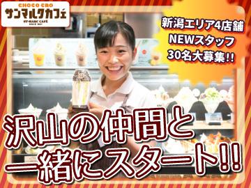 サンマルクカフェ 新潟エリア4店舗合同募集のアルバイト情報