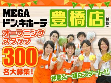 MEGAドン・キホーテ 豊橋店(仮称)/451のアルバイト情報