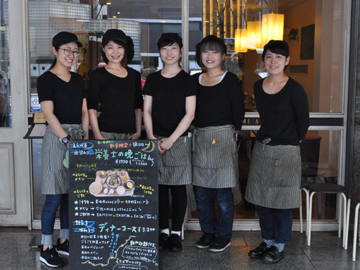 玄米と野菜の健康カフェ 玄三庵〜gen-mi-an〜のアルバイト情報