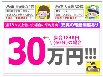 りらくる【大阪エリア】 ★全国550店舗★のアルバイト情報