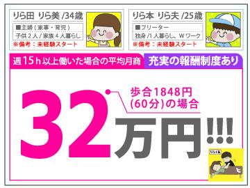 りらくる【東京エリア】 ★全国550店舗★のアルバイト情報