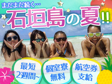 石垣島 南の島のしずかなお店のアルバイト情報