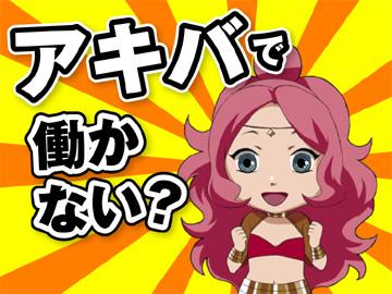 アニメ・フィギュア・DVDが好きな方は是非ご応募下さい!!