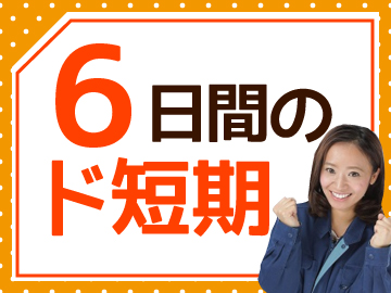 【短期】9/25〜9/30の6日間だけ!
