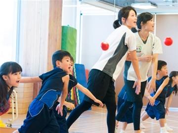 9人編成のチームに忍者修行で運動の基礎を指導!