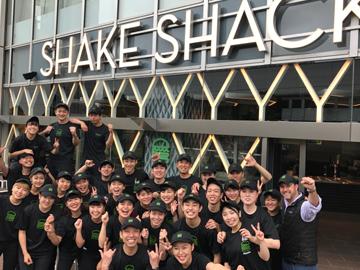シェイク シャック 日本7号店のアルバイト情報