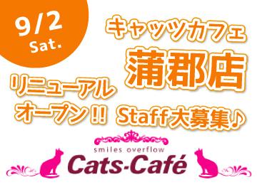 キャッツカフェ 蒲郡店 ◆セントラルフード(株)のアルバイト情報