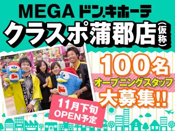 MEGAドン・キホーテ クラスポ蒲郡店(仮称)/460のアルバイト情報