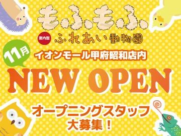 もふもふ ふれあい動物園 甲府昭和店のアルバイト情報