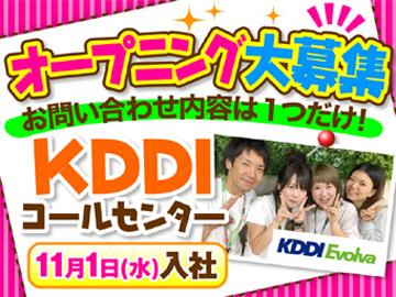 (株)KDDIエボルバ 関西採用センター/FA034216のアルバイト情報