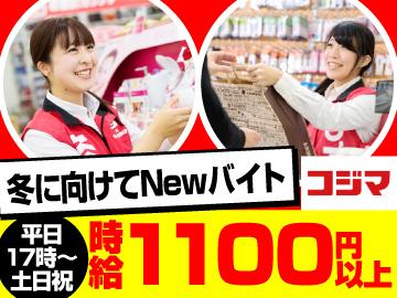 コジマ×ビックカメラ 厚木栄町店のアルバイト情報