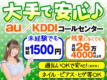 株式会社KDDIエボルバ/DA033668のアルバイト情報